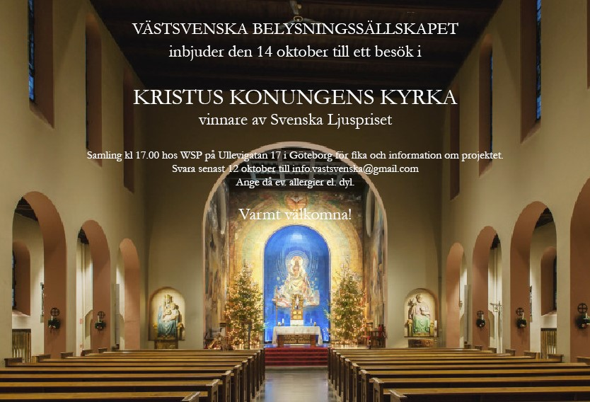 Inbjudan VSB 151012