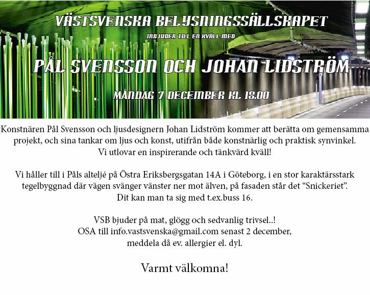 Västsvenska Pål&Johan